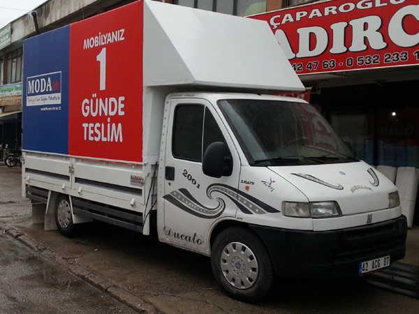 Çaparoğlu Kamyonet Kamyon Çadırı Şantiye Depo Çadırı Konya