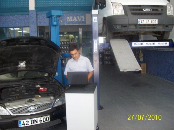 Mavi Volvo Volvo Özel Tamir Servisi Konya