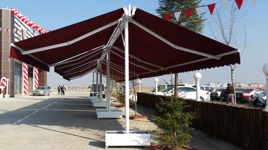 Dgn Tente İmalatı Pergole Tente Ordu
