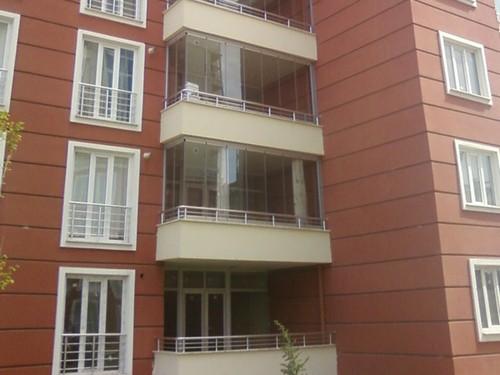 Hüner Konya Cam Balkon Alüminyum Korkuluk Cephe Giydirme